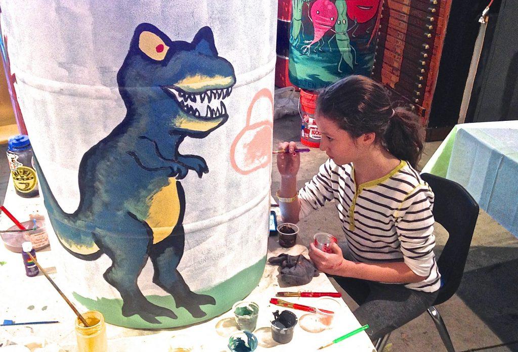 Workshop at Waterloo Arts - Winter Creativity